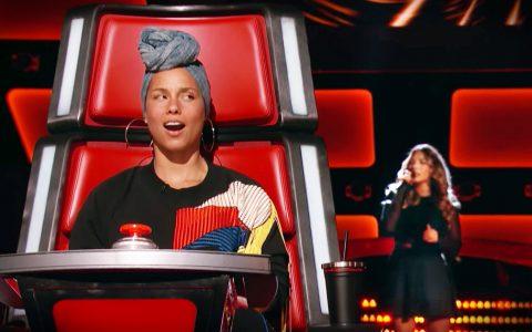 the voice Lauren Diaz Alicia Keys audition