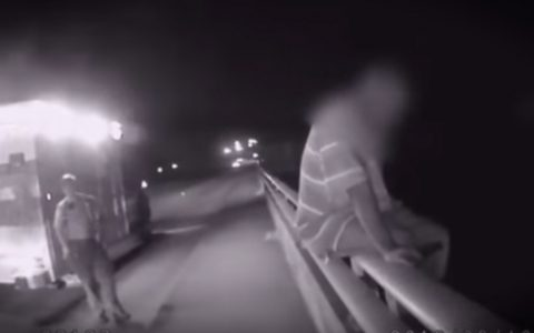 Police Officer Save Suicidal Man by Talking Football