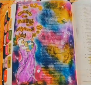 everything inspirational bible journaling mom of triplets testimony 3