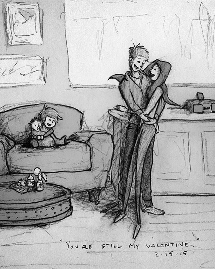 everything inspirational husband's heartbreaking miscarriage sketch 13