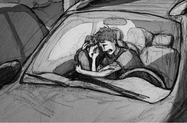 everything inspirational husband's heartbreaking miscarriage sketch 15
