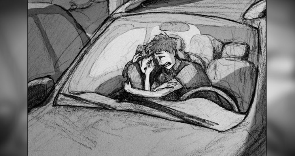 everything inspirational husband's heartbreaking miscarriage sketch fb