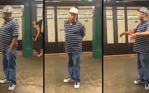 Man Sings Righteous Brothers' Unchained Melody in Subway