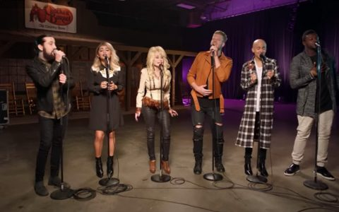 dolly parton and pentatonix a cappella jolene