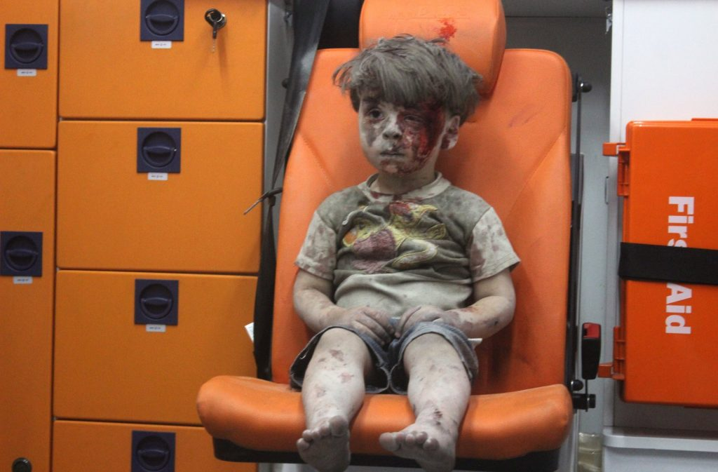 syrian refugee he will be our brother 6-year-old