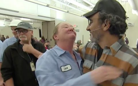 Chobani yogurt boss surprises workers with huge windfall