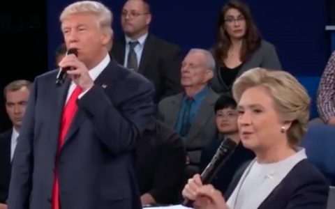 Hillary And Donald Sing I've Had The Time Of My Life Dirty Dancing Debate
