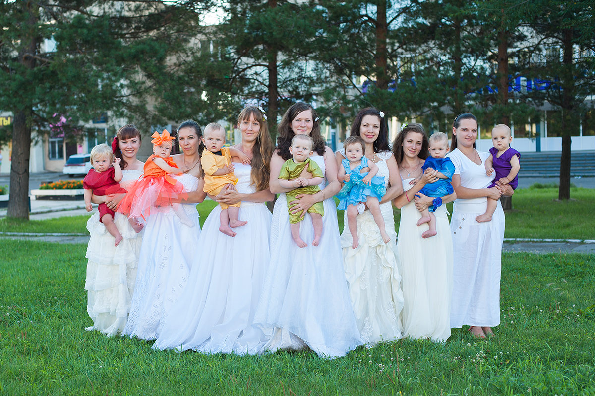 Raibow babies - Natalia Karpovovy and Elena Gannenko