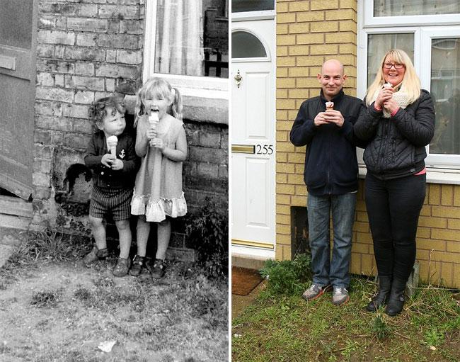reunion photos 40 years later - Chris Porsz