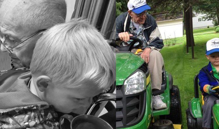 emmett and erling final goodbye 91-year-old friend