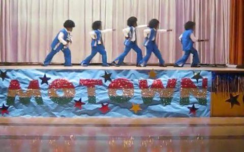 Students Perform Jackson 5 At Talent Show