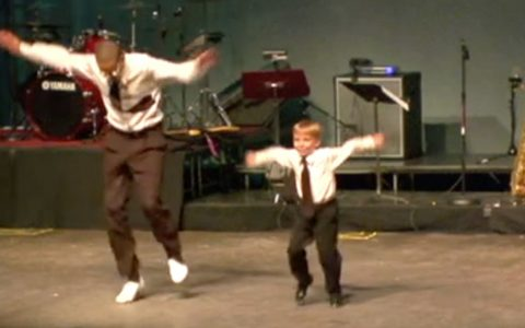 tap dance prodigy dances with pro