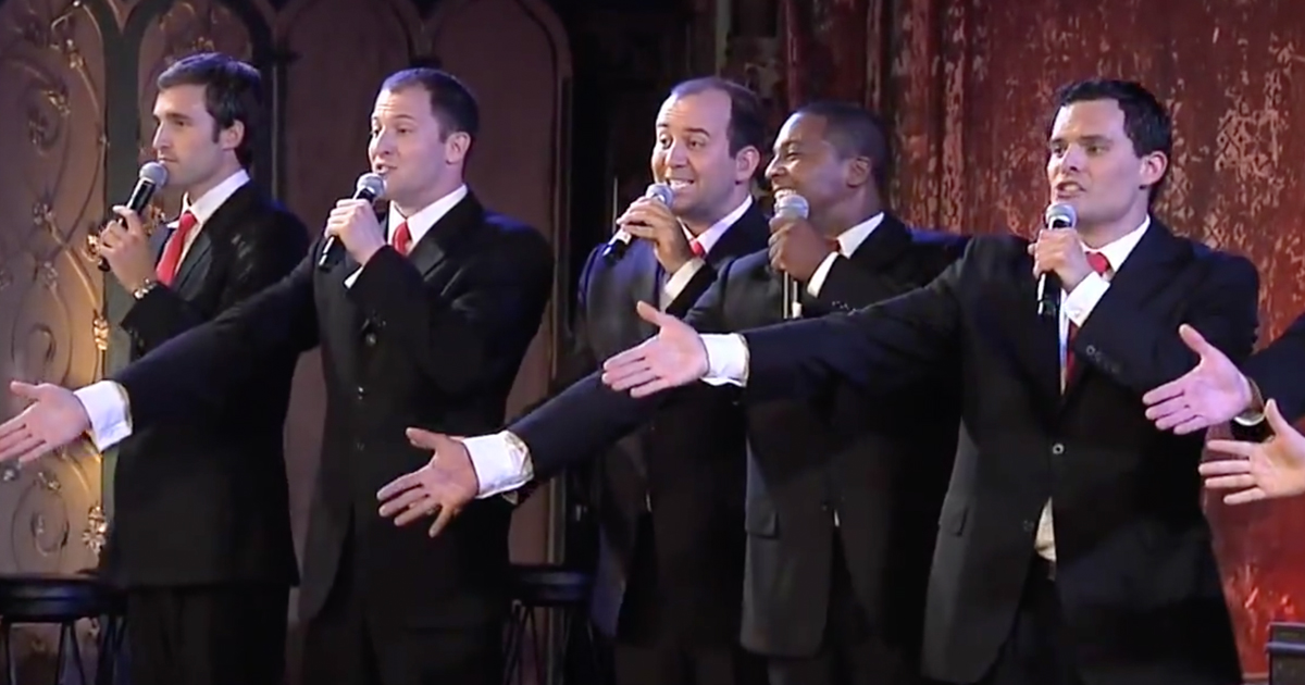 Christmas Can Can by Straight No Chaser - Funny A Cappella Song