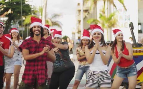 Christmas flashmob