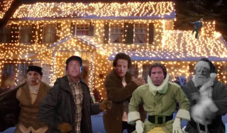 dancing added to christmas movies