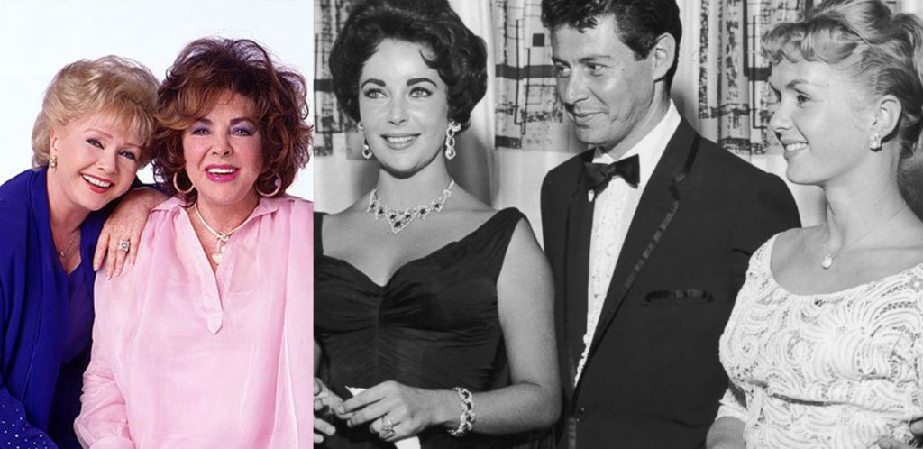 debbie reynolds last words liz taylor