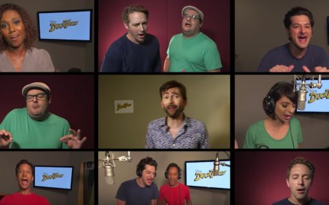 Disney new cast of DuckTales sings the theme song