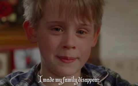 I made my family disappear - home alone song - songify - gregory brothers