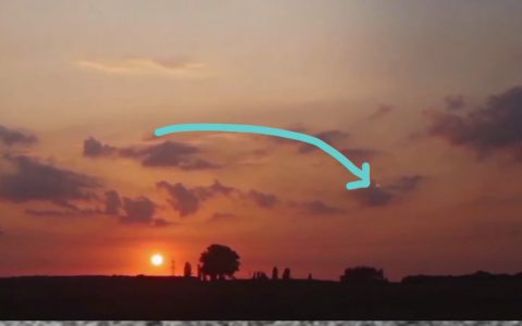 sunset timelapse mystery