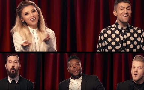 pentatonix o come all ye faithful