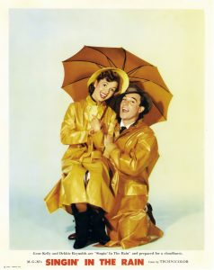 debbie reynolds singing in the rain