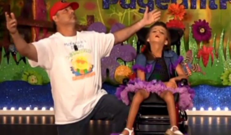 devoted dad dances with daughter kenzie