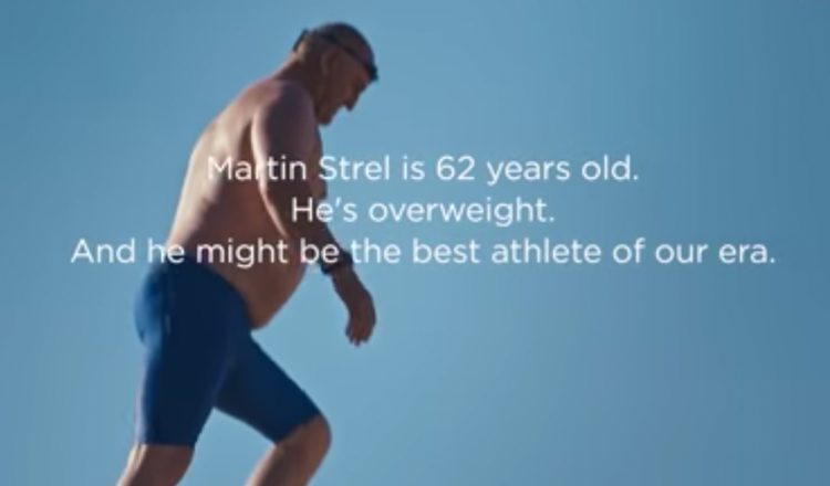 Martin Strel - marathon swimmer