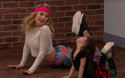 toddlers teach kate hudson how to dance toddlerography