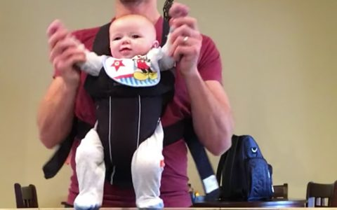 daddy baby michael jackson dance beat it just dudes