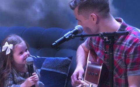 Claire Ryann David Crosby daddy daughter duo sing you've got a friend in me ellen