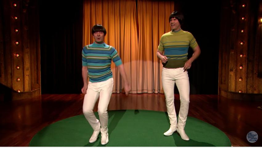 jimmy fallon will ferrell tight pants men dance in lularoe leggings