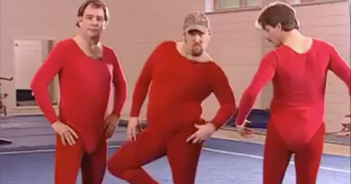 Jeff Foxworthy, Larry the Cable Guy, Bill Engvall Learn Gymnastics