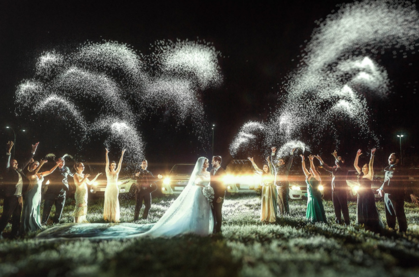 Mind-Blowingly Beautiful Wedding Photos _ Glitter _ everything inspirational