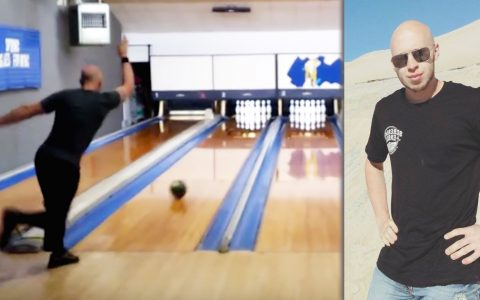 Guy's Record Setting Bowling Game Is Mind Blowing _ Ben Ketola _ 281 Bowl _ everything inspirational