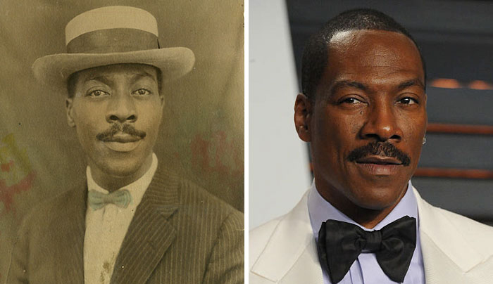 14 Photos of People Who Look Exactly Like Famous Celebrities _ John Breckinridge _Eddie Murphy_ everything inspirational