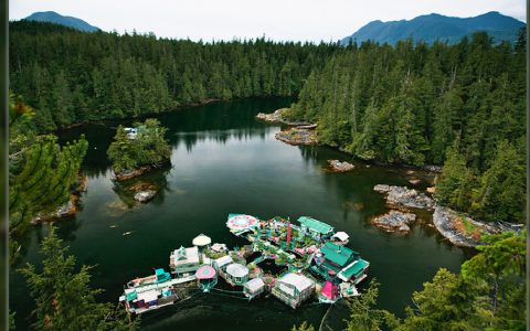 Incredible Floating Island Home Takes Artist Couple 20 Years To Build _ everything inspirational