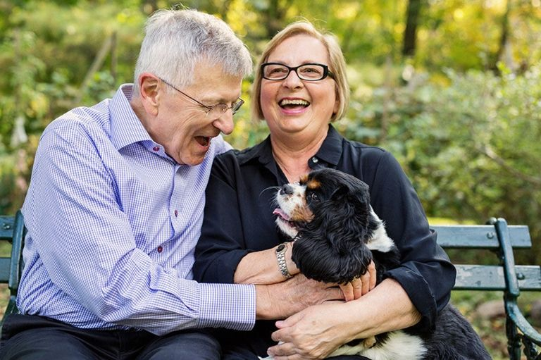 Photos of Couples Married 50 Years Shows What Love Really Looks Like _ Park _ Dog _ all created