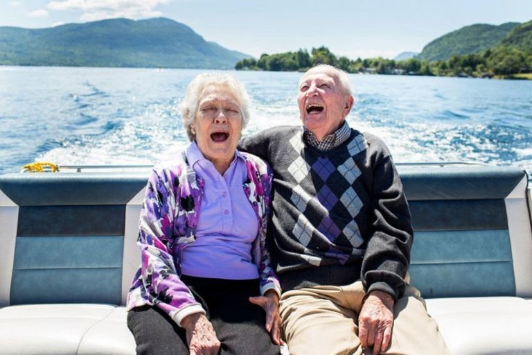 Photos of Couples Married 50 Years Shows What Love Really Looks Like _ boat _ all created