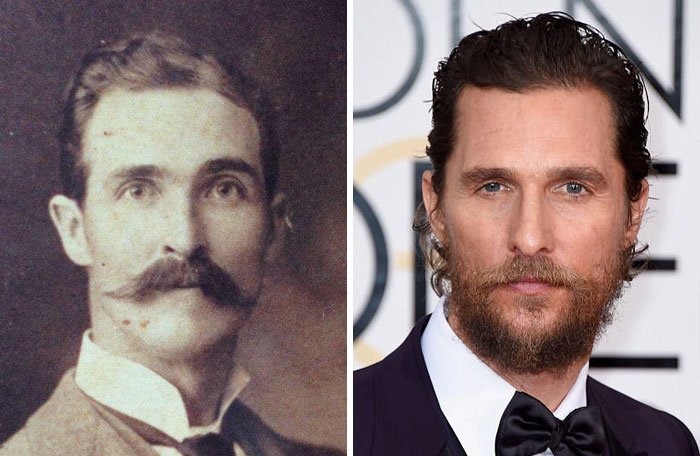 14 Photos of People Who Look Exactly Like Famous Celebrities _ Matthew McConaughey_ everything inspirational