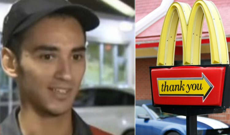 McDonald's Employee Jumped from Drive-Thru Window to Save Officer in Distress _ everything inspirational