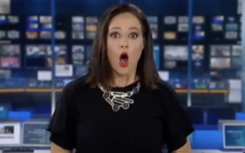 News Anchor Surprised to Learn She's On Live TV _ everything inspirational