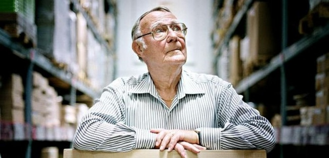 10 Down-to-Earth Celebrities Who Know How to Keep Life Simple _ Ingvar Kamprad _ IKEA _ everything inspirational