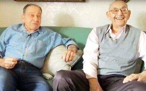 Best Friends In Their 80s _ Harvey and Eddie _ everything inspirational