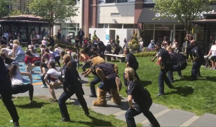 Students Were Dancing at A Mall When The Police Arrived _ Victoria _ Saancich _ everything inspirational