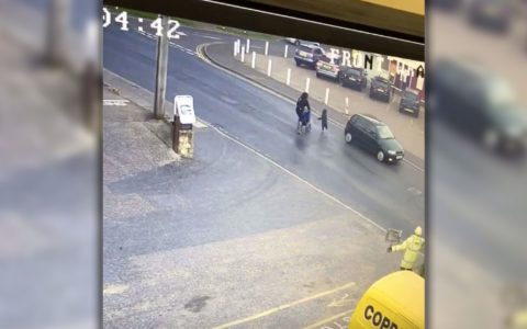 Toddler Narrowly Avoids Being Crushed by Car That Rushed Toward Him _ everything inspirational