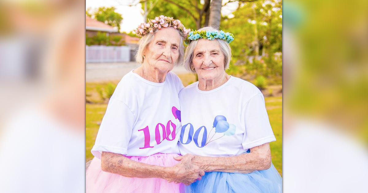 100-year-old_twin sisters _ birthday _ photo shoot _ everything inspirational