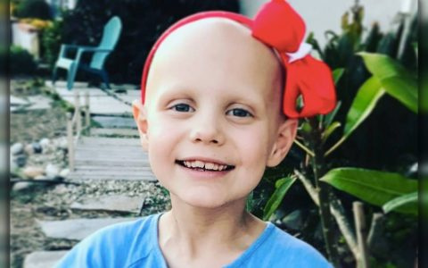hope for hazel _ Little Girl Sheds Happy Tears Learning All Her Cancer Is Gone _ everything inspirational