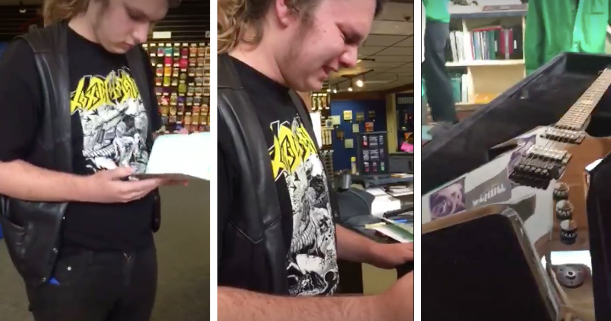 Son Is Shocked At Gift His Father Bought Him Before He Passed Away _ everything inspirational