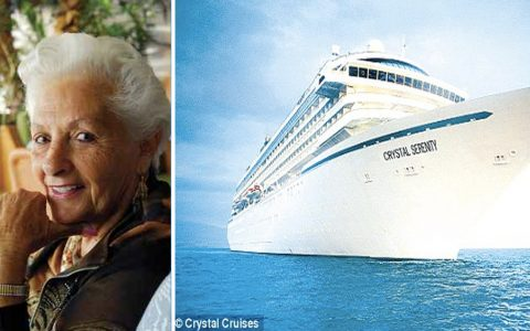 88-year old Having The Time Of Her Life As A Resident On A Cruise Ship _ everything inspirational