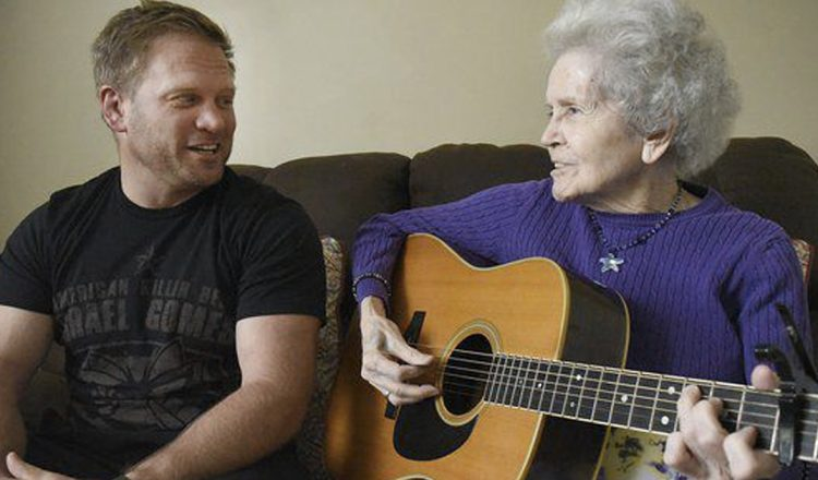 Mom With Alzheimer's Sings Duet With Son _ Praying _ Everything Inspirational